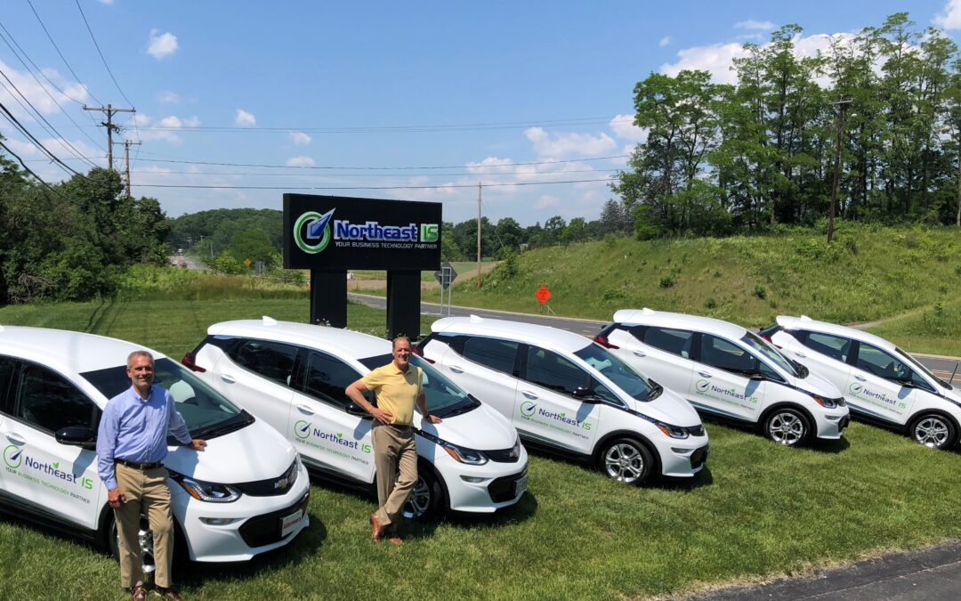 Northeast IS goes GREEN!